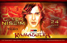 XOXO presents KAMASUTRA-OFFER NISSIM and Dani Toro-San Francisco Pride, June 24th