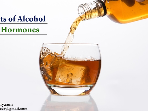 EFFECTS OF ALCOHOLISM ON HORMONES