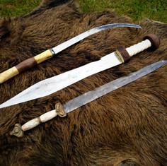 Falx, Gladius, Celtic Sword