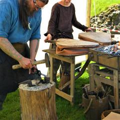 Iron Age Knife Making
