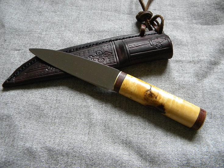 13th-14th Century Dutch Knife- Dudgeon Handle