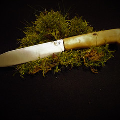 Skinning-butchering knife