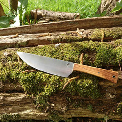 Olivewood Medieval Cooking Knife