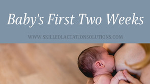 Baby's First Two Weeks