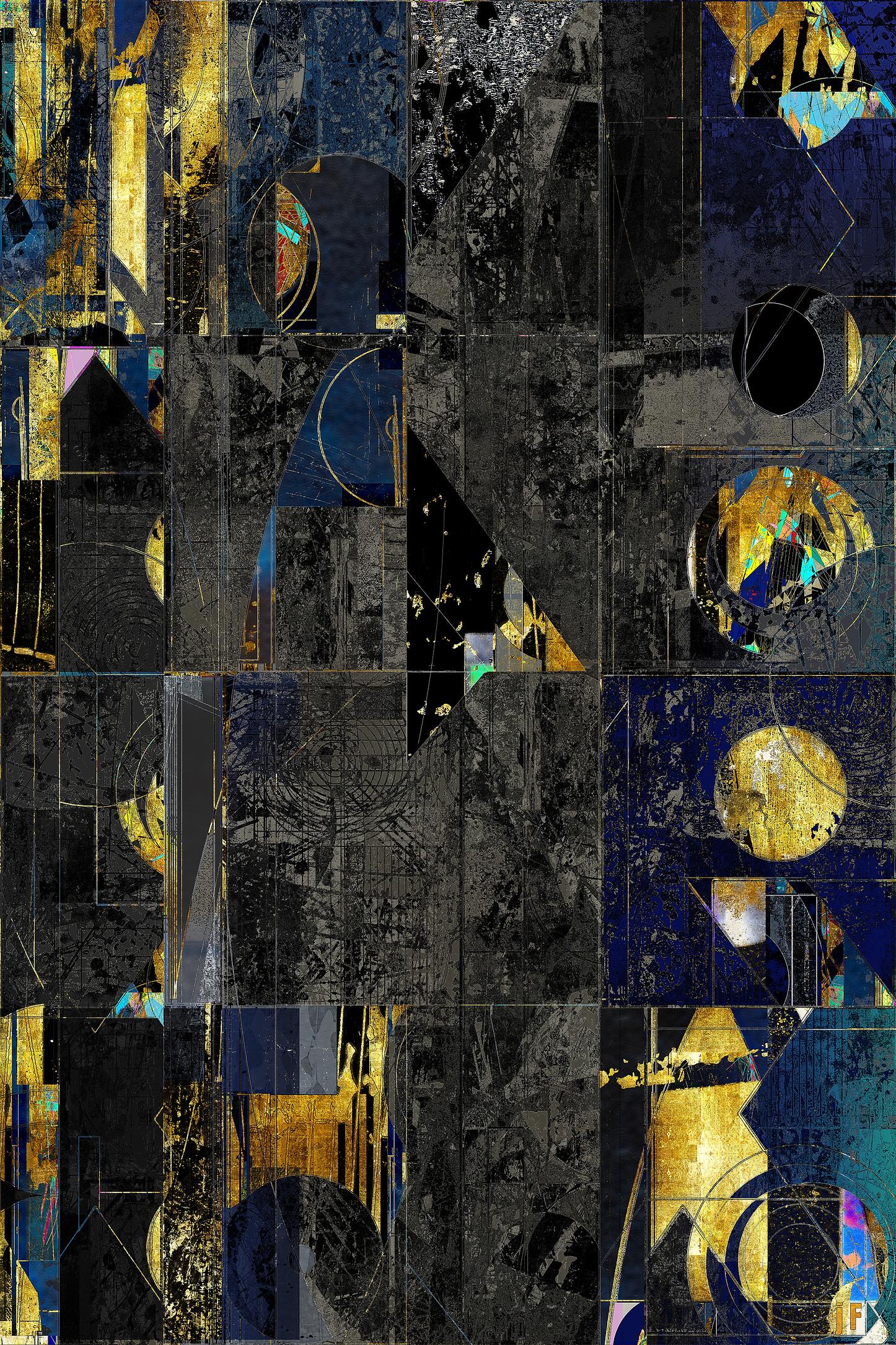 DECOS  J Friedmann  Mid Century Abstract