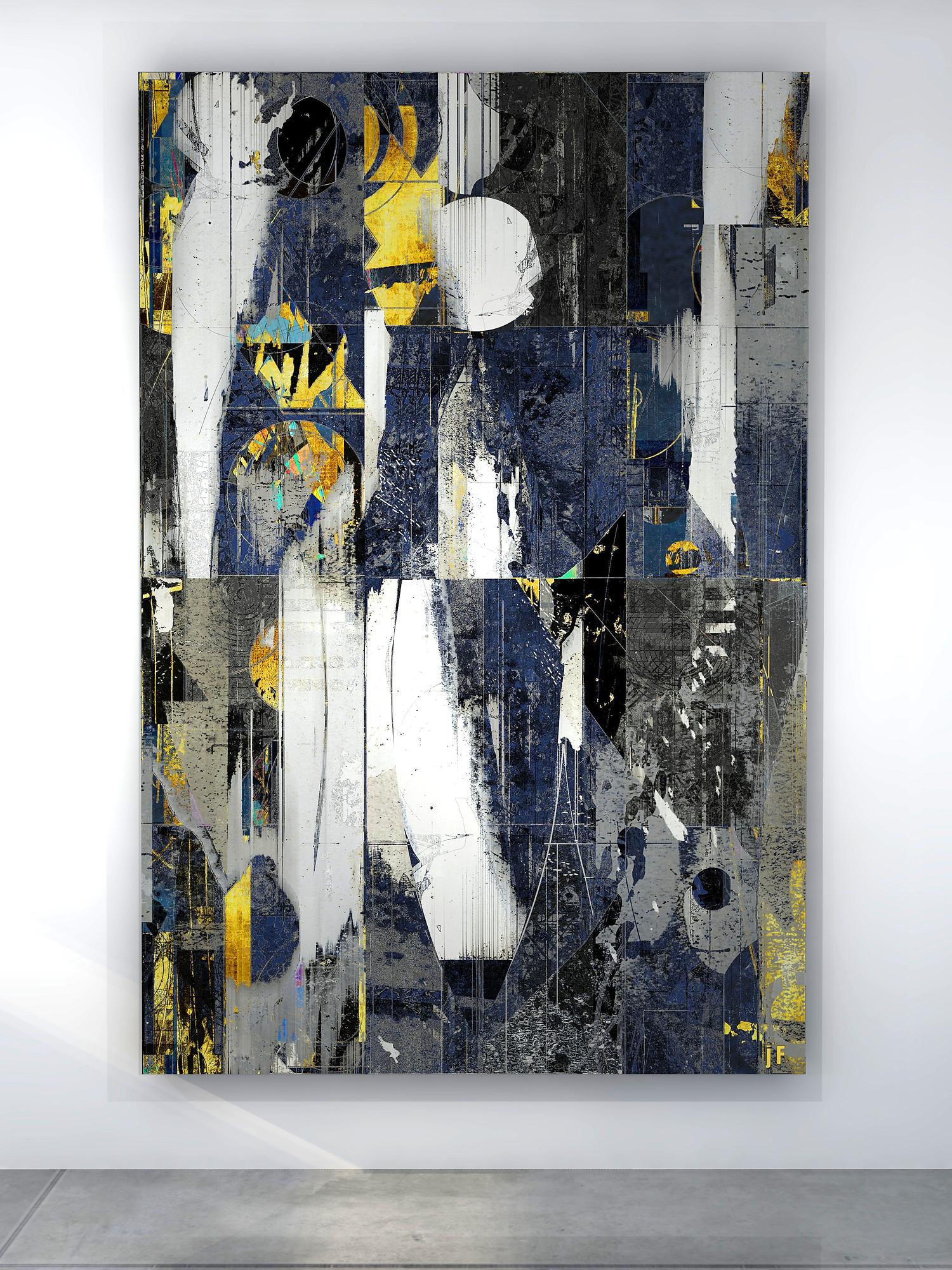 J Friedmann  Mid Century Abstract