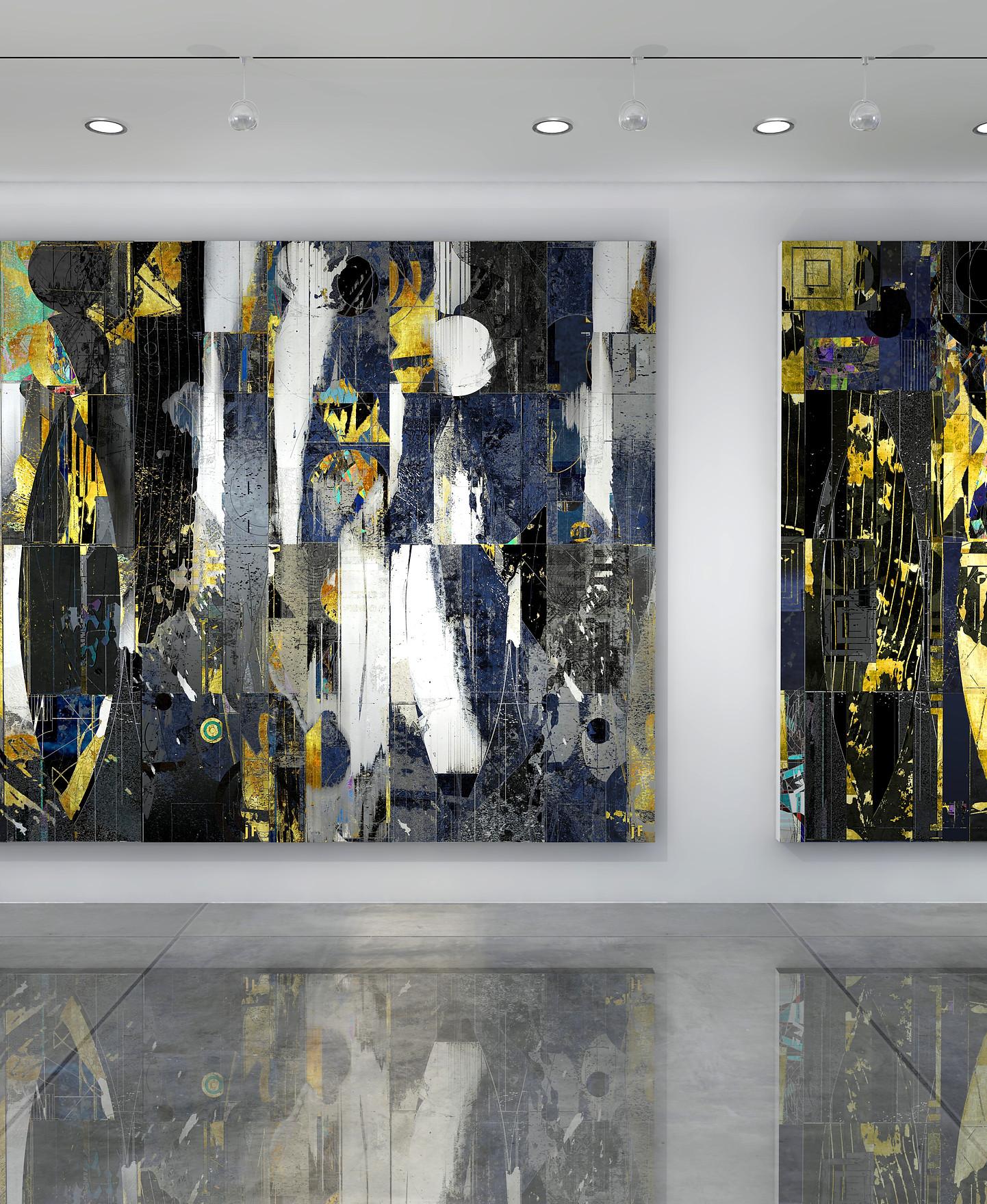 J Friedmann_2  Mid Century Abstract