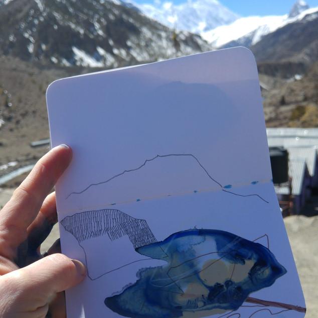 Towards Thorung La, Nepal