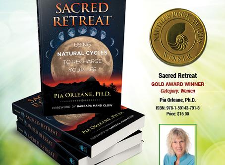 Sacred Retreat Wins Nautilus Award!