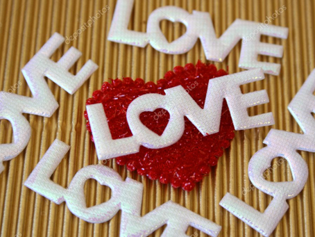 LOVE IS ALL AROUND US!