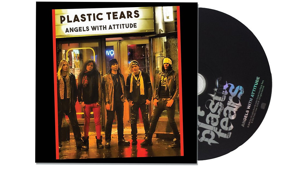 PLASTIC TEARS - ANGELS WITH ATTITUDE CD