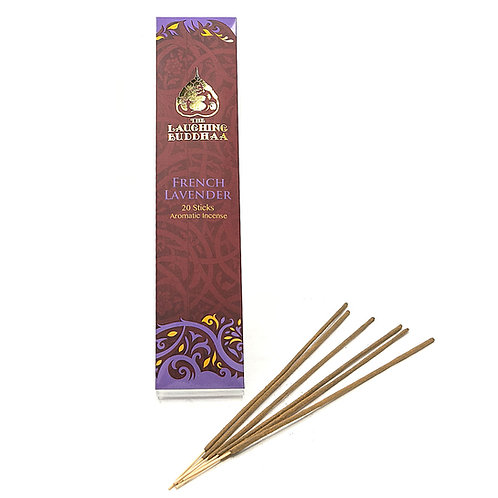 French Lavender - Laughing Buddha Incense