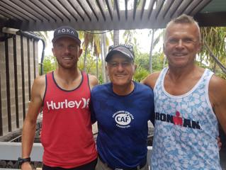Otec a syn Vraštilové na Havaji: střelný prach a nezdolnost