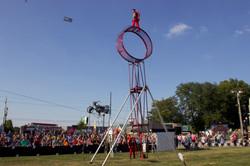 37 feet wheel of death