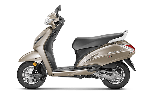 Honda Activa 110 : from Jaipur