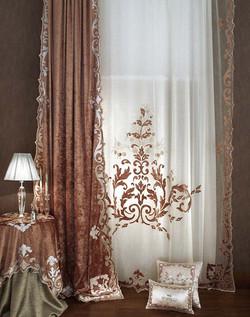 NUVOLA LILIUM customized elegance curtains