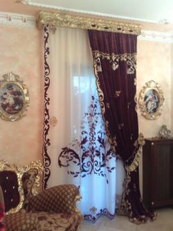 NUVOLA LILIUM very rich curtain set