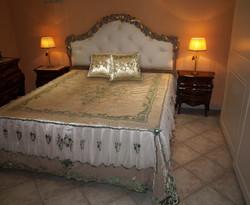 NUVOLA LILIUM velvet bedcover
