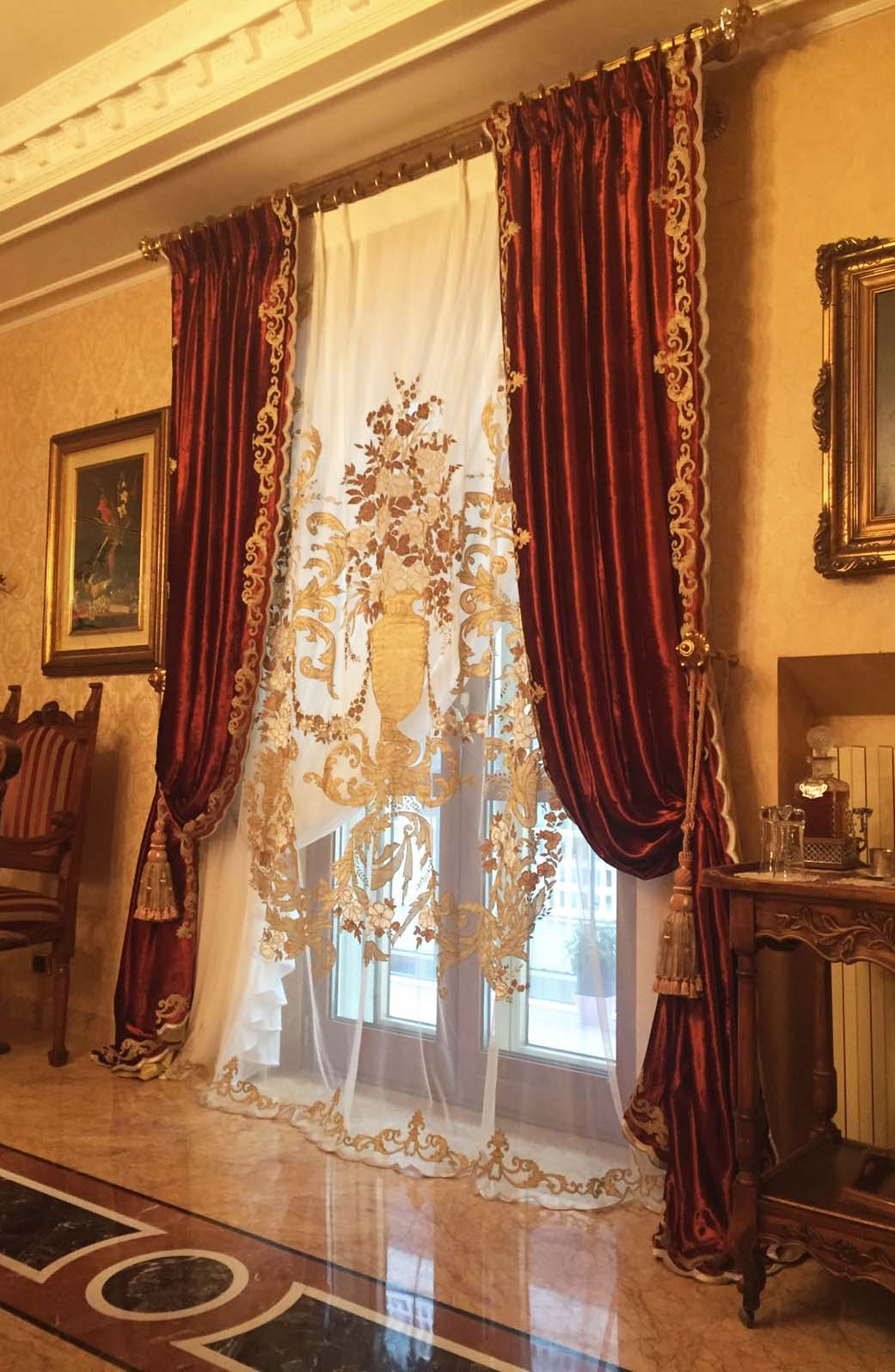 MOZART very rich curtains
