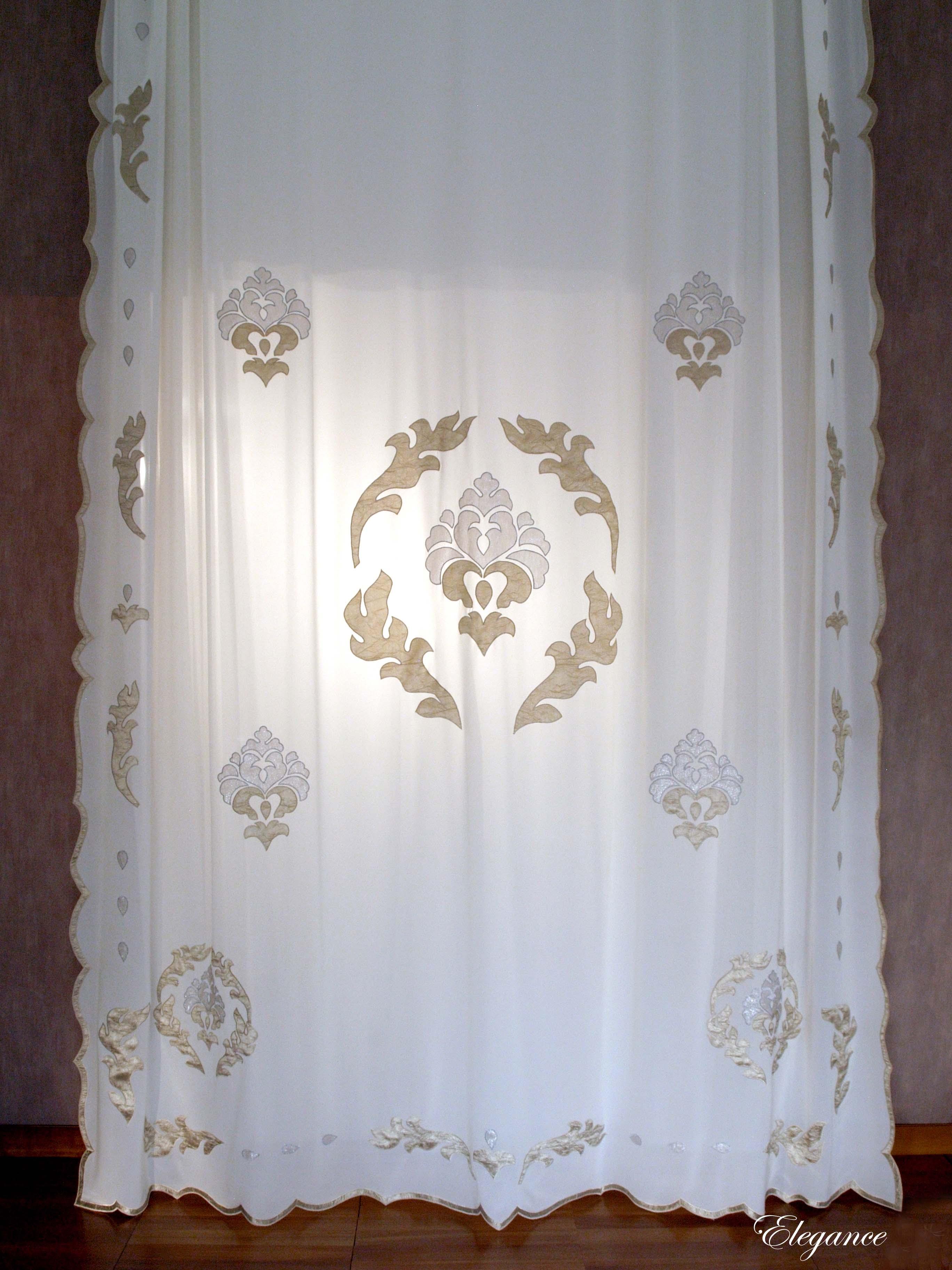 ELEGANCE luxury georgette curtain