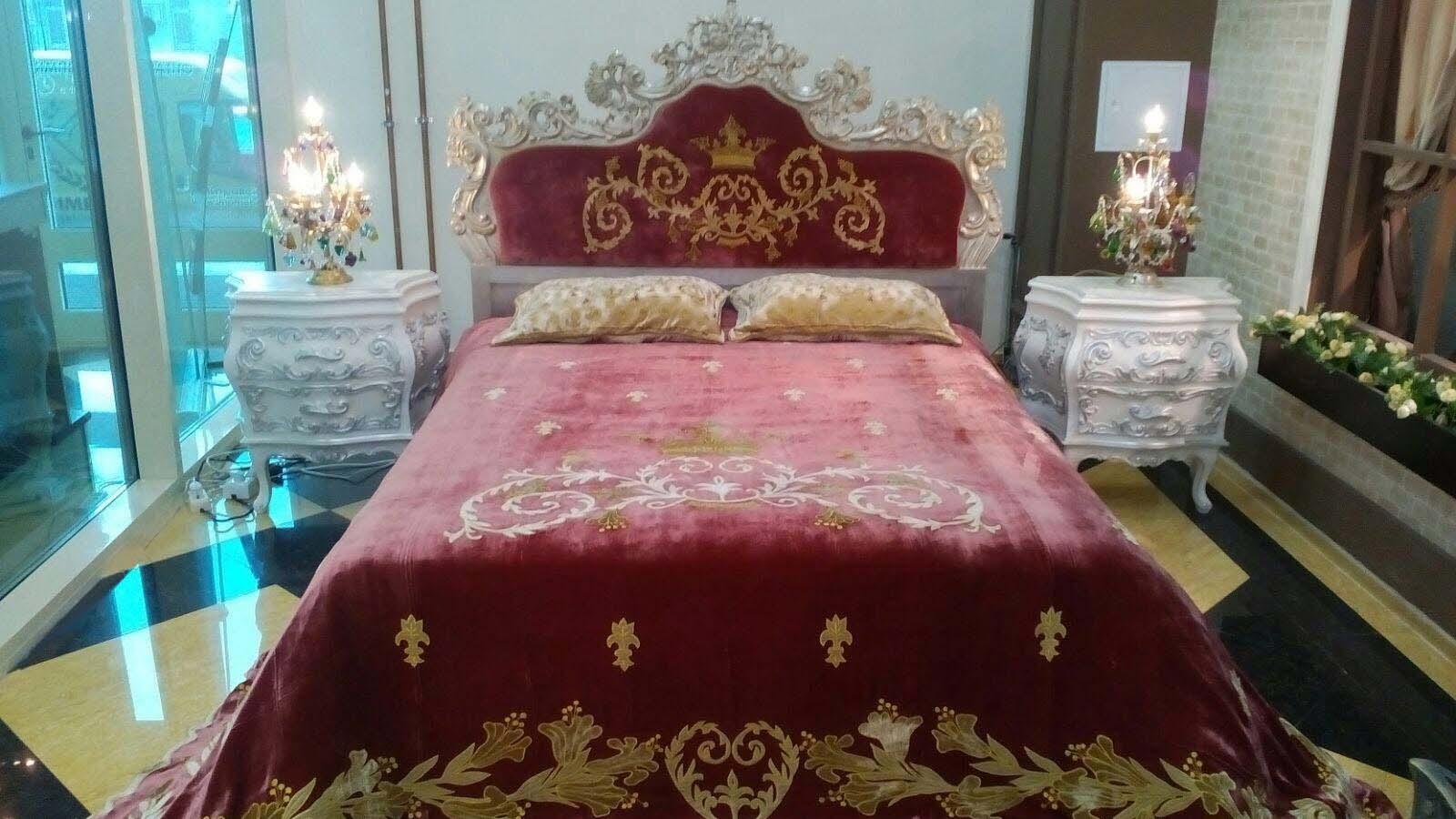 PALAZZO REALE  luxury velvet bedcover