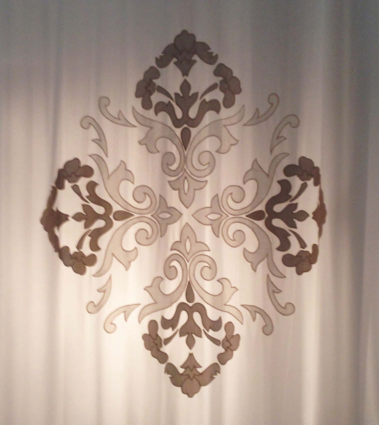 NUVOLA LILIUM prestigious embroidery