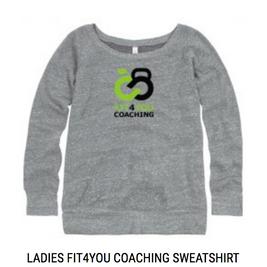 Ladies Branded Sweatshirt