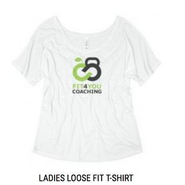 Ladies Branded Loose Fit T-Shirt