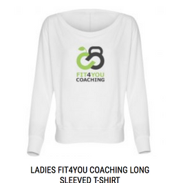 Ladies Branded Long Sleeved T-shirt