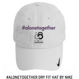 #alonetogether Dry Fit Hat Purple