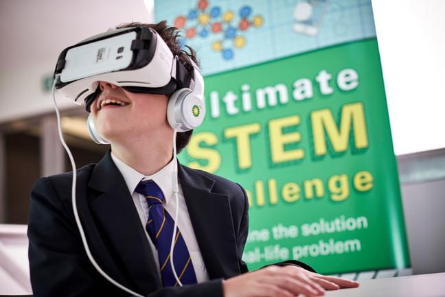 BP Ultimate STEM Challenge Virtual Reality, Science Museum