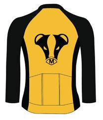 Cycling Long Sleeve Jersey - Back