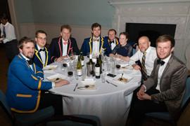 Alumni at the BUBC Christmas Dinner 2019