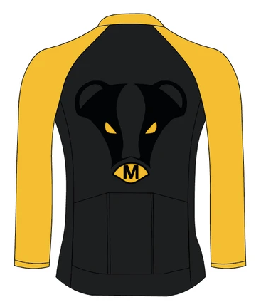 Cycling Thermal Jersey - Back