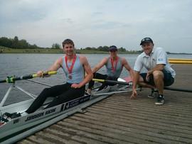 Medals at BUCS Regatta