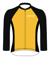 Cycling Long Sleeve Jersey - Front