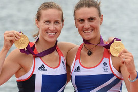 Alumna Heather Stanning wins gold at London 2012!