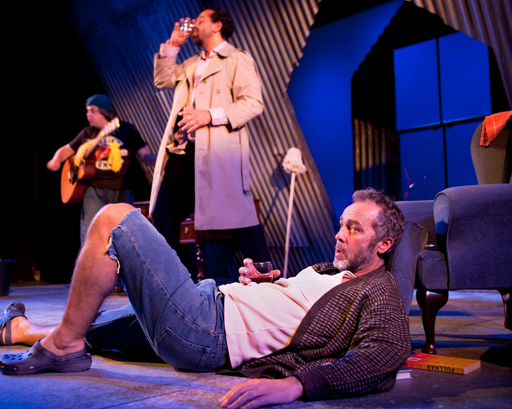 John Hannah (Vanya), Joe Dixon (Astrov) and Alan Francis (Telygin) in Uncle Vanya at St James Theatre. Credit Simon Annand. copy.jpg