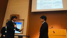 坂口雄介が日本体育測定評価学会第18回大会にて「高齢者の道路横断時安全行動と筋応答の関連性」の研究発表で優秀発表賞を受賞しました。