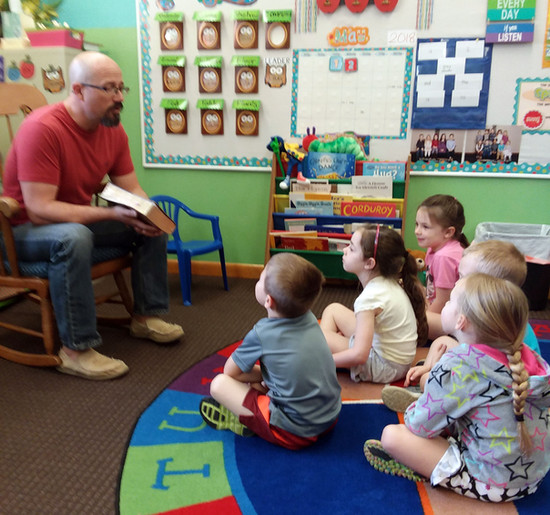 Story Time with Pastor Tom