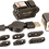 Thumbnail: KT8106 Rechargeable Pistol Light (White) and Laser (Green)