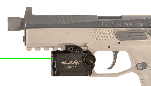 KT8106 Rechargeable Pistol Light and Laser