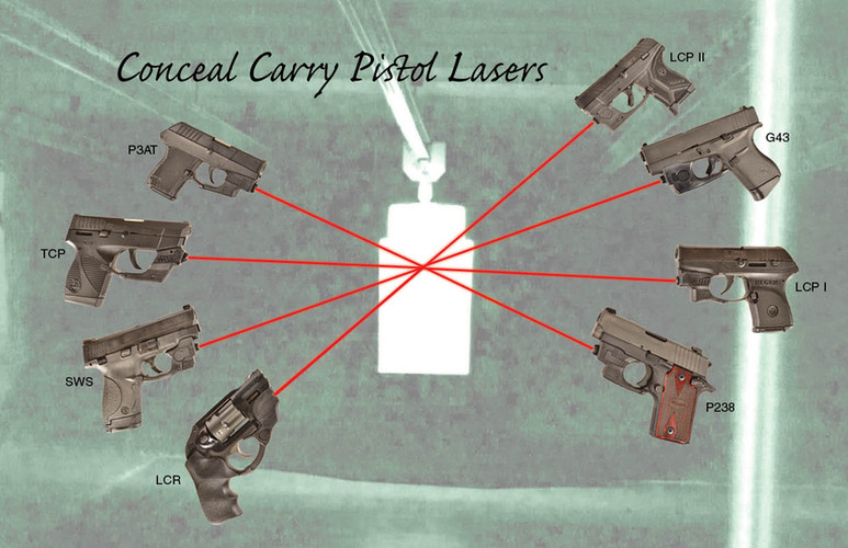 Conceal Carry Pistol Lasers