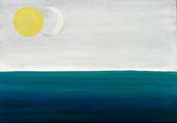 sun and half moon