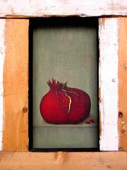 a box for a pomegranate