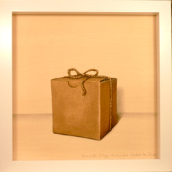 paper box with string