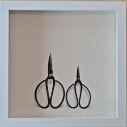 two scissors