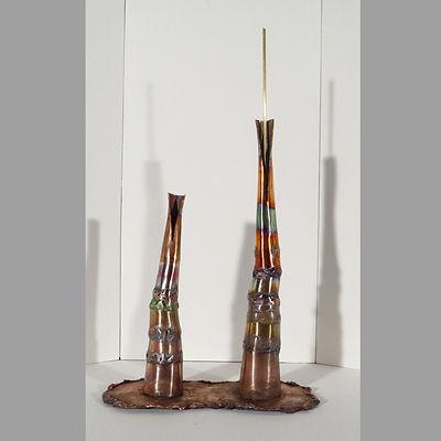 Bi-lyth, an original, affordable copper sculpture