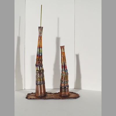 Bi-lyth_rear, an original, affordable copper sculpture