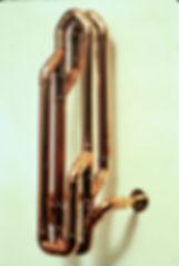 """Spoon"" copper sculpture by Paul Chepolis"